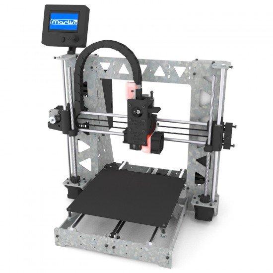 3DSteel V2 - 24V 32 bits 3D Printer - Evolution of P3Steel / Prusa i3 Steel