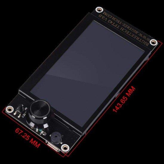 TFT43 V3.0 Pantalla Táctil con doble función compatible con LCD gráfico 12864 y menú táctil - Compatible con Wifi
