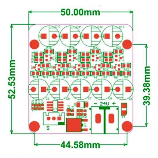 UPS 24V V1.0 Sistema de Alimentación Ininterrumpida SAI - Compatible con SKR