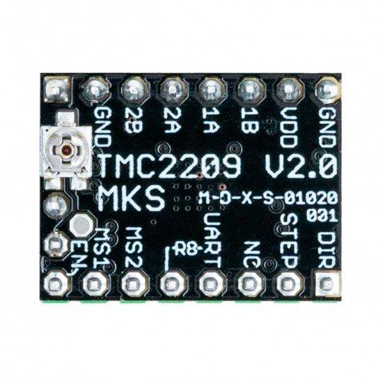 TMC2209 - Silent stepper motor driver - UART - STEP/DIR - MKS