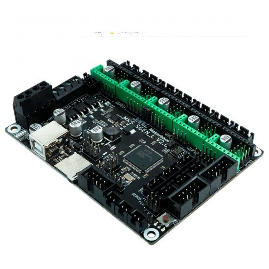 MKS Sgen_L - Placa de 32 bits para impresora 3D - Compatible con controladores UART