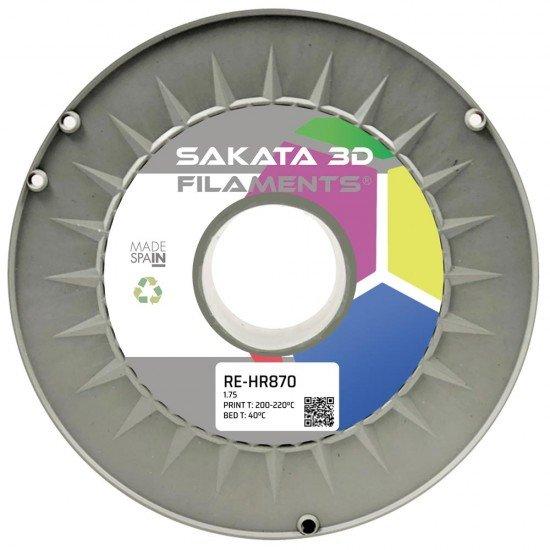 Filamento HR-PLA INGEO 3D870 Reciclado - Alta Resistencia - 1.75mm - Sakata 3D