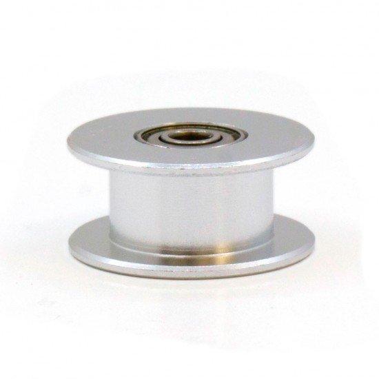 Polea GT2 con Rodamiento - 20T sin dientes - DI 3mm