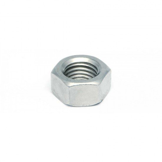 Tuerca hexagonal DIN-934 - ISO-4032 de acero cincado y rosca métrica