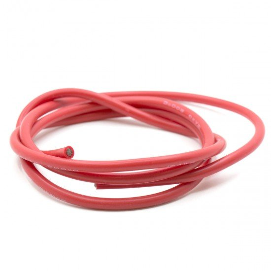 Cable 12 AWG rojo - 1 metro
