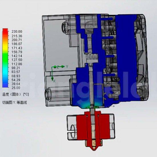 Extrusor Matrix - 24V Compacto