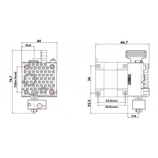 Extruder Matrix - 24V Compact