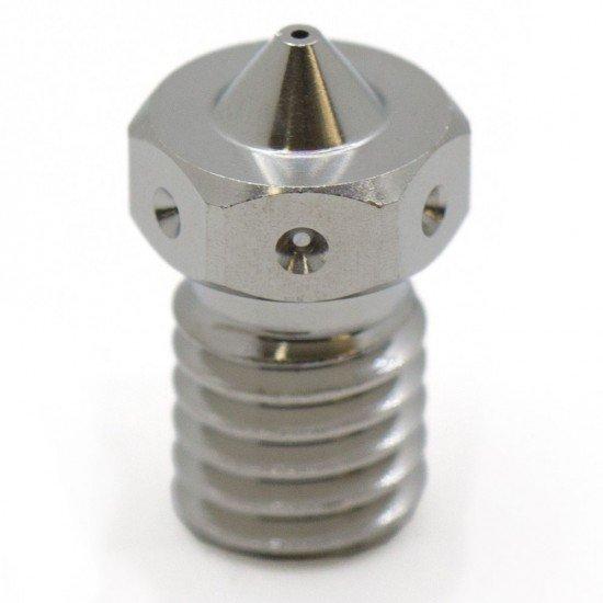 Nozzle - Boquilla de cobre plateado para filamento 1.75mm - 0.4mm