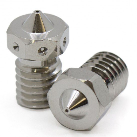 Plated Copper nozzle for filament 1.75mm - 0.4mm