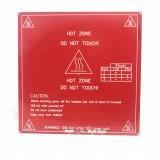 MK2B Cama Caliente 200x200mm 12v / 24v - Color rojo o negro