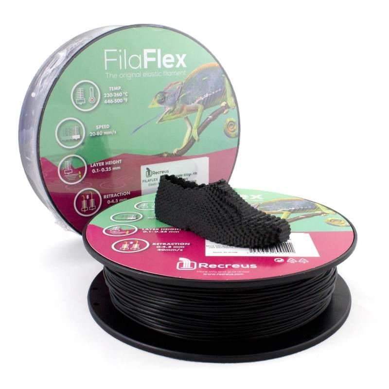 Filamento Flexible 95A Filaflex - Filamento Medium-Flex - 1.75mm - Recreus - 500gr