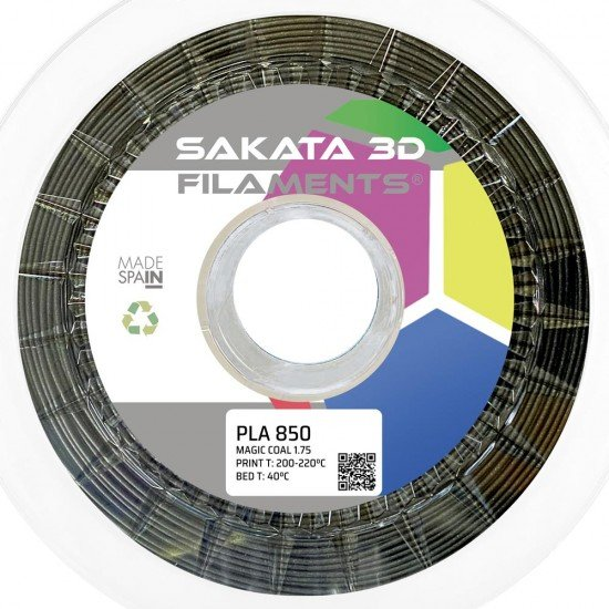 Filamento PLA INGEO 3D850 - Colores Especiales - Filamento Seda / Silk - Magic - Quartz - 1.75mm - Sakata 3D