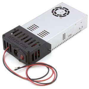 24v power supply with intelligent fan