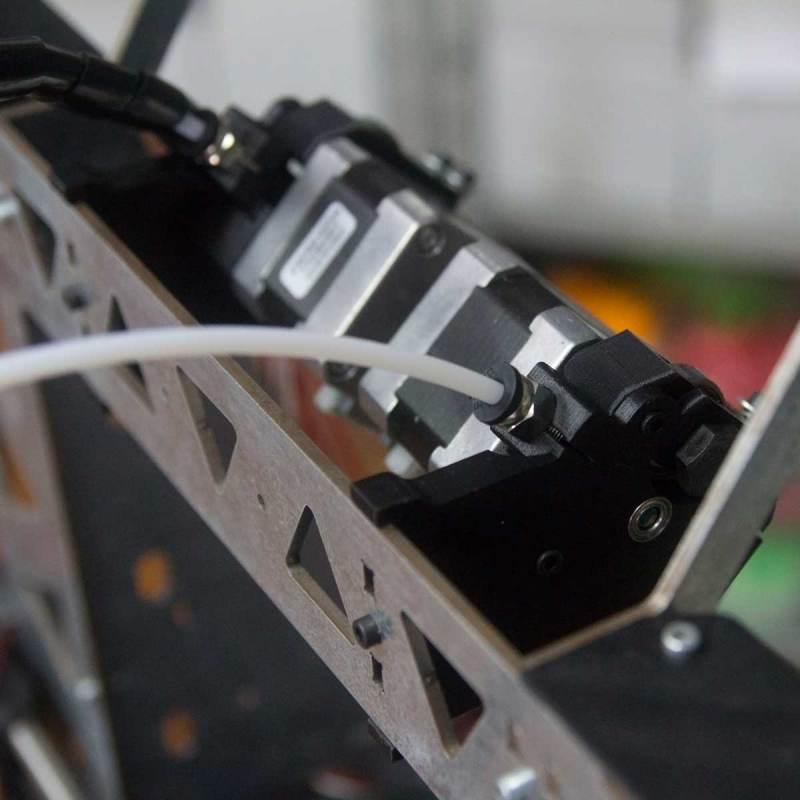 Extrusor dual HTA3D para P3Steel - Mk8 y Estilo Chimera