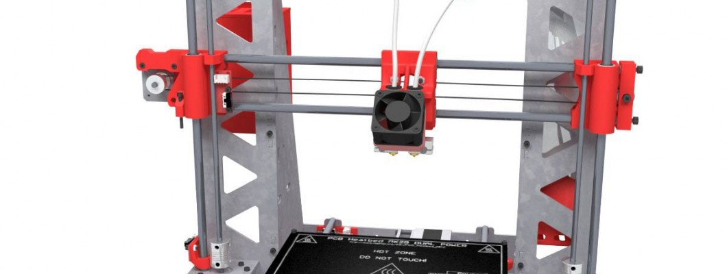 P3Steel Dual Launch - Dual Prusa I3 Steel