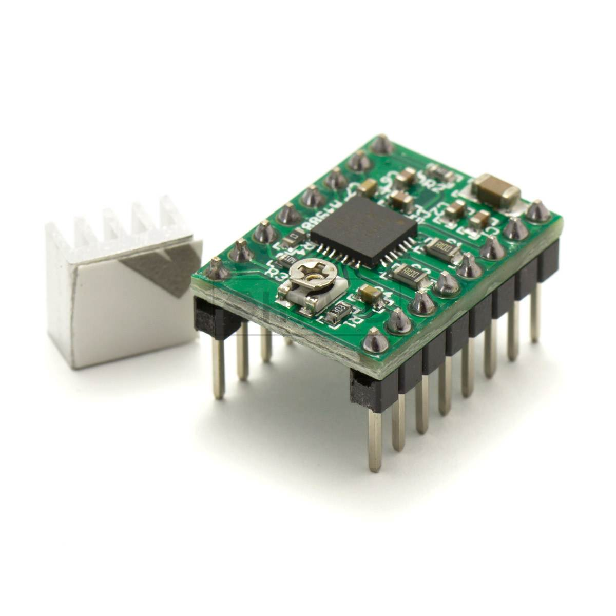 A4988 stepper motor controller pololu driver hta3d for Low cost stepper motor