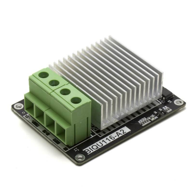 Módulo mosfet 30A con disipador y compatible con cama caliente - Compatible con Arduino