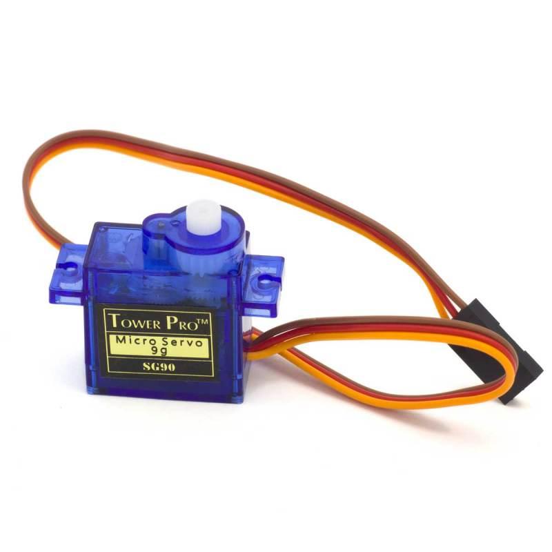 Microservo TowerPro SG90 mini 9g con accesorios