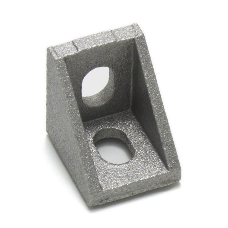 Conector en escuadra para perfiles de aluminio  2020