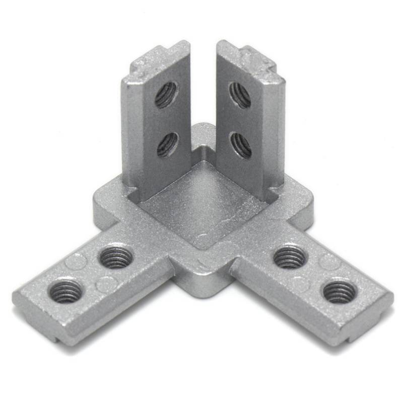 Connector for profiles 3 ways - 3030