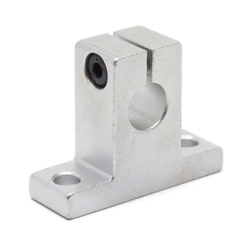 Soporte de aluminio SK10 para varilla 10mm