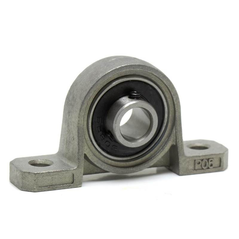 Support KP08 with bearing for rod 8mm