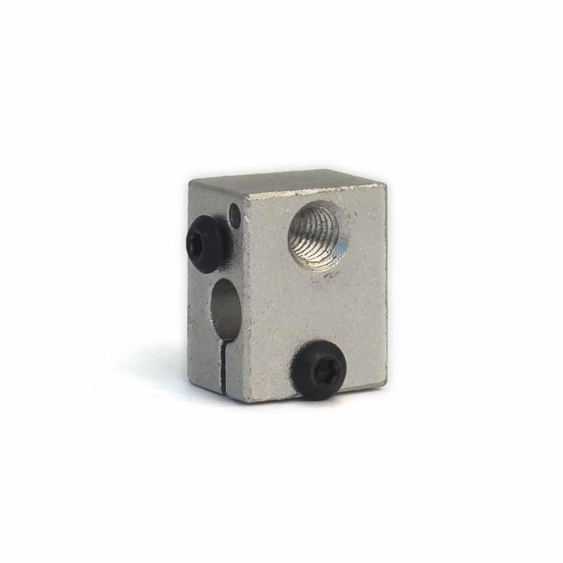 Bloque calefactor v6 - Rosca M6 - Compatible con v5 y v6