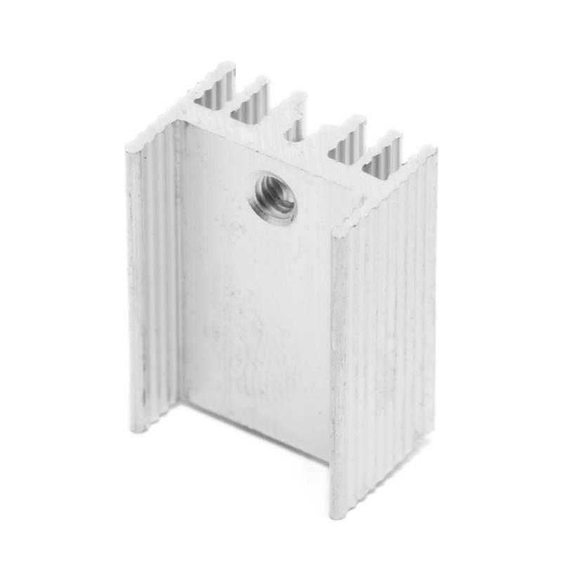 Disipador de aluminio para Ramps 21x15x10mm - disipador para mosfet TO-220