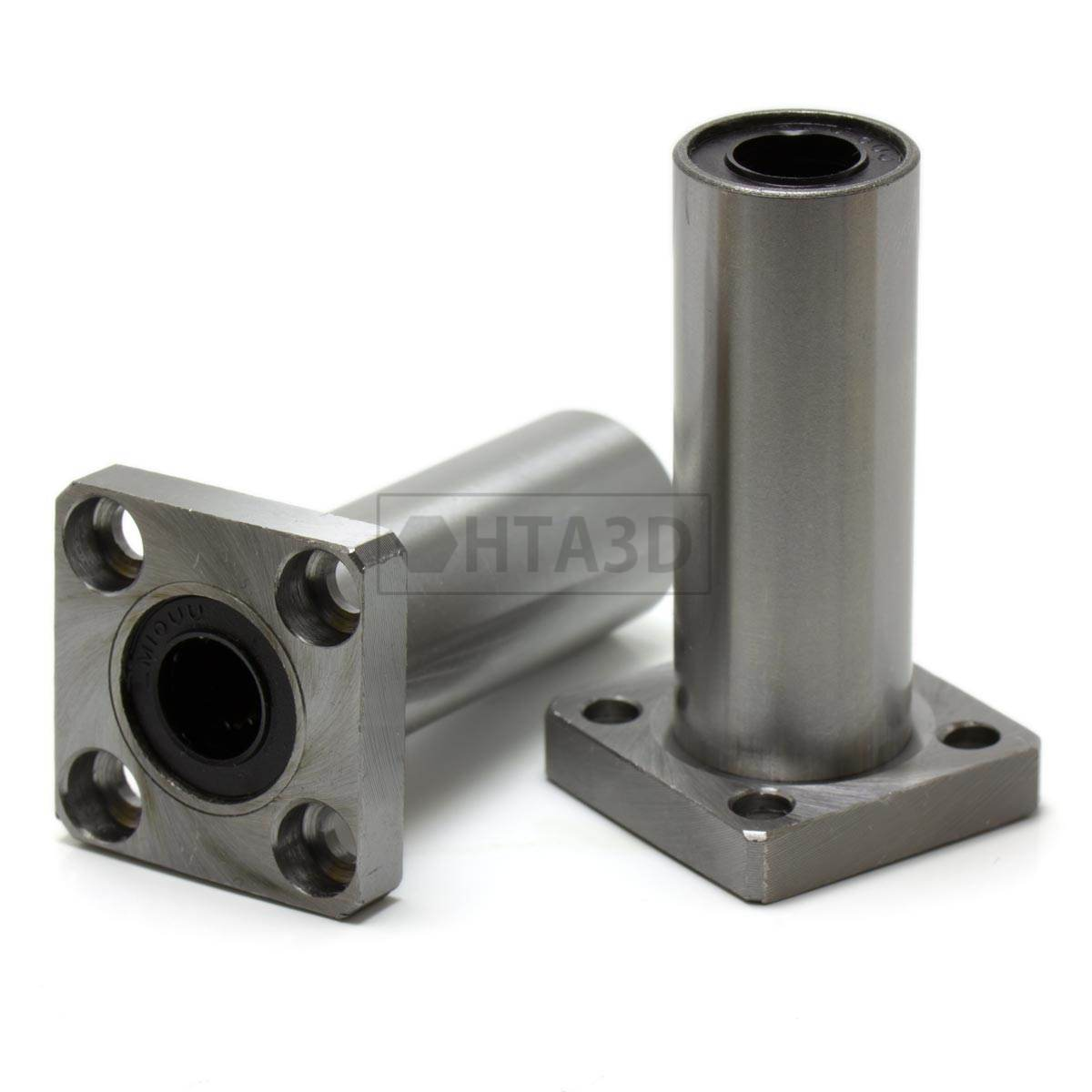 Lmk10luu Linear Bearing With Square Edge Hta3d Bracket Sk10 Untuk Shaft 10mm Vertical
