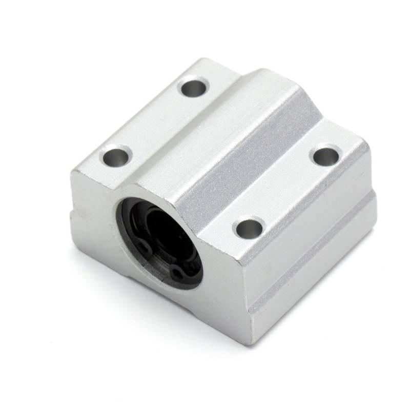 SC10UU Lineal bearing with aluminum bracket